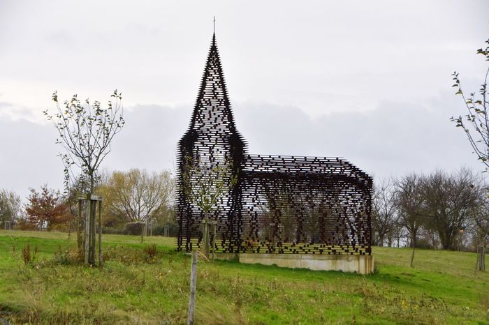 Trees Grass No People Sky Nature Architecture Church Belgium