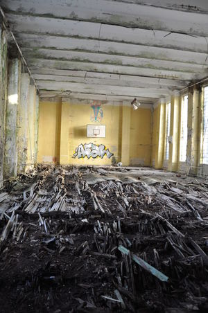 Abandoned Architecture Bad Condition Built Structure Damaged Day Indoors  No People