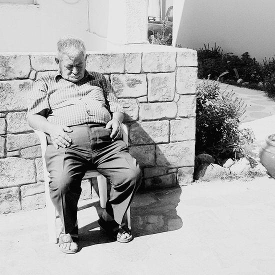 catnap Monochrome Photography Streetphotography Lifestyles Kardamena Monochrome Greece2016 Streetphoto_bw Outdoors