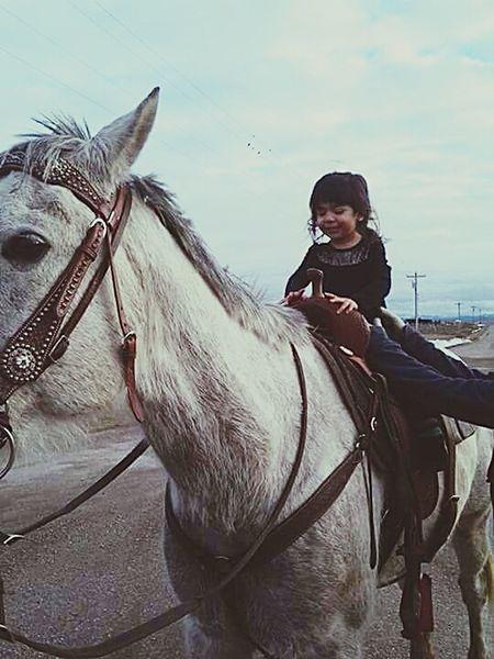 Taking Photos My Baby Girl <3 Montana Horse Riding RezLife