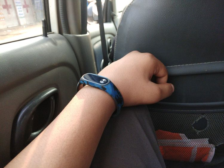 Vehicle Interior Human Body Part Transportation Mode Of Transport Indoors  Sitting Healthcare And Medicine Vehicle Seat One Person Close-up People Adult Adults Only Only Women Day Human Hand One Young Woman Only Young Adult UnderReview Mi Band 2 Xiaomiphotography Connected By Travel