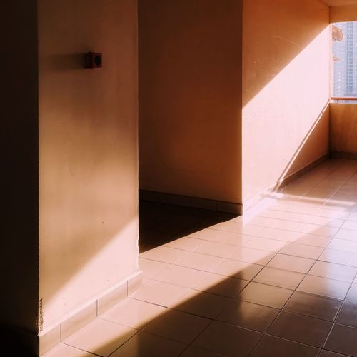 Sunshine in space Shadow Light Light And Shadow Tiles Condominium Malaysia Space Entryway Home Improvement Entry Renovation