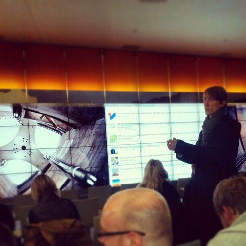 Social Media Monitoring auf der Smcst und es füllt sich langsam...