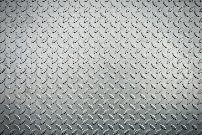 Metal sheet, Checker plate Industrial Industry Abstract Aluminum Backgrounds Brushed Metal Checker Plate Chrome Close-up Day Full Frame Gray Grid Indoors  Material Metal Metal Textures Metallic No People Pattern Seamless Pattern Silver - Metal Silver Colored Steel Textured