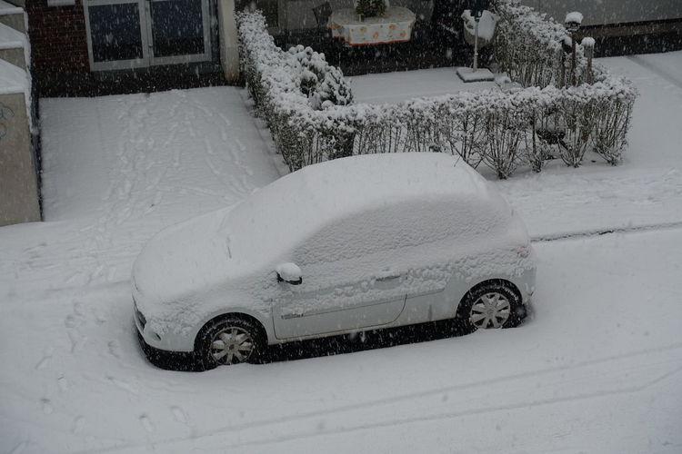 snow Car Streetphotography Snow Winter