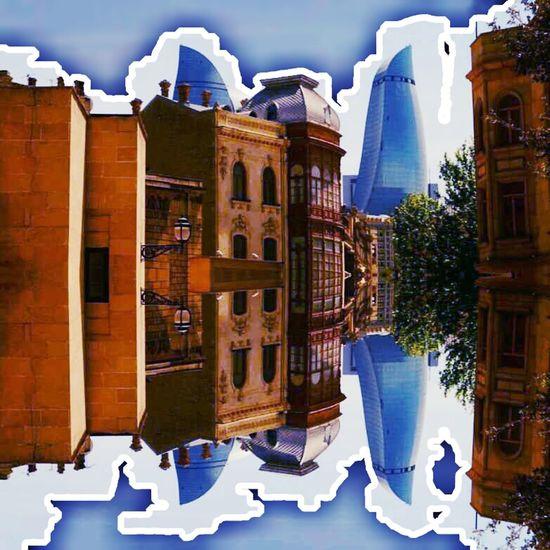 By me.. ❤😂📷📷 Taking Eye Baku Azerbaijan Baku♡♥ Flametowers EyeEm Best Shots