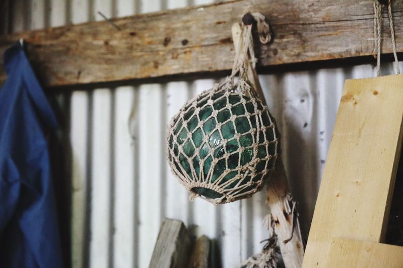 EyeEm Selects Hanging Wood - Material No People Day Indoors  Close-up Old Buoys Buoy Fishing Norway Boat House