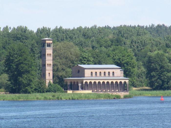 Havel River Heilandeskirche Sacrow Potsdam Waterfront
