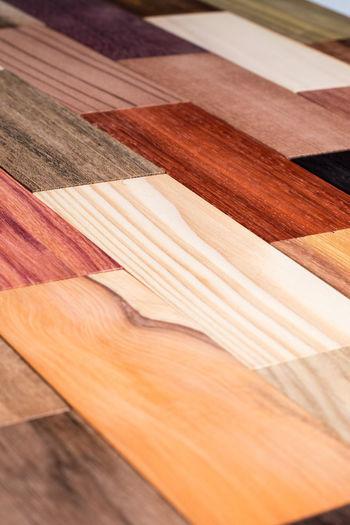 Close-up of table on hardwood floor