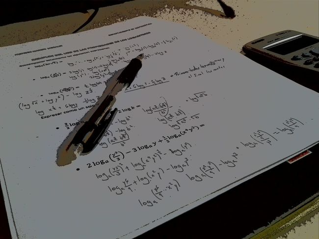 Equations Mathematic Studies Studying First Eyeem Photo