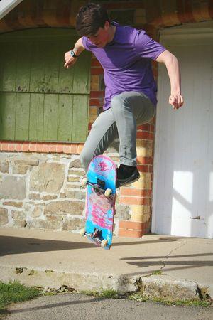 Skateboarding in holsworthy Skateboarding Skateboard ENJOI
