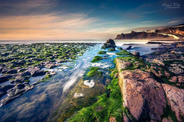 Magoito sintra Portugal Beach Lowtide