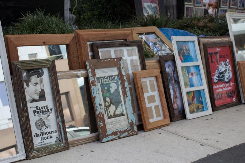 Full frame shot of store for sale