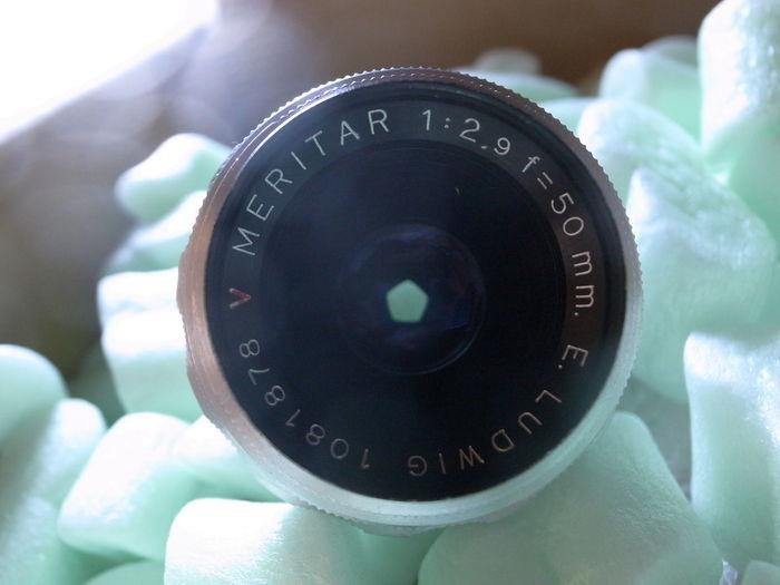 E. Ludwig Meritar 50mm F2.9 '50s Lens Made In Germany Pentagon Diaphragm Enjoying Photography Taking Photos Old-fashioned Old Lens オールドレンズ 五角形 eBayでレンズ物色してたら五角形絞りのこれを見つけてついつい衝動買いしてしまった物です😅