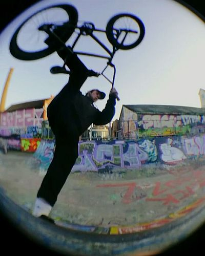 Bmx  Fisheye PhonePhotography First Eyeem Photo