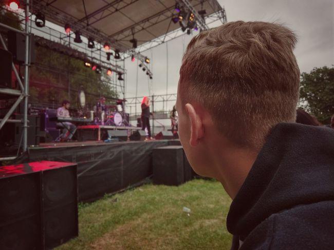 EyeEmNewHere Rocknacht Lehrte LedZep Beer Stage Rock N Roll Party Festival Outdoors Metal