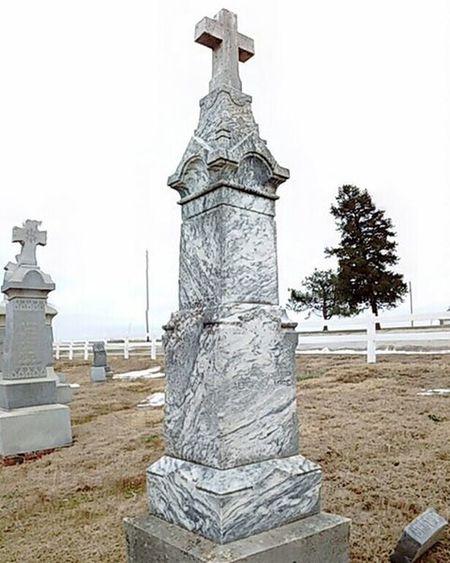 Cemetery at church in Atchison county Kansas. Ks_pride Graveyarddead Graveyard