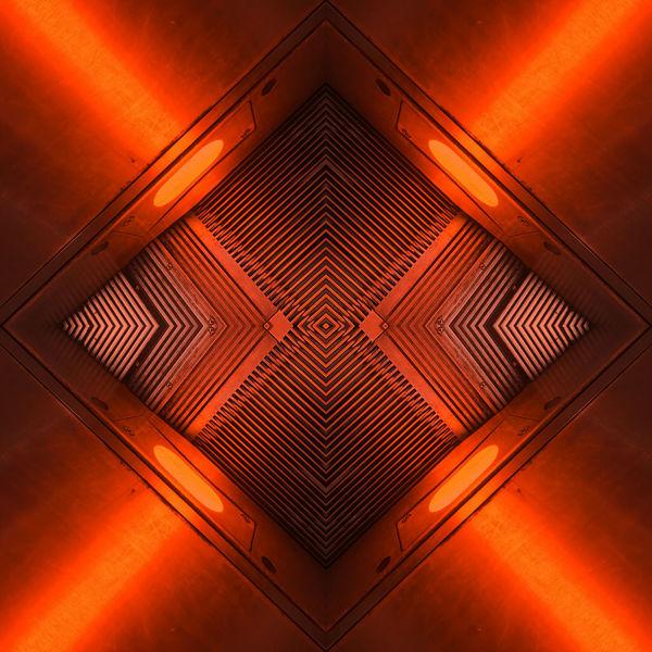 metalliclights Abstract Photography Lights Mystic Orange Red The Week On EyeEm Illuminated Metallic No People Photoart Symmetry Gridlove