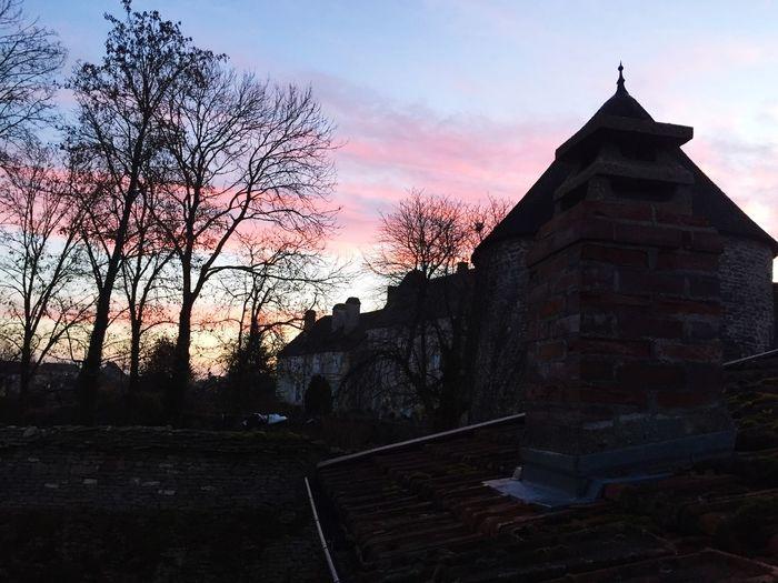 Nice winter's sky