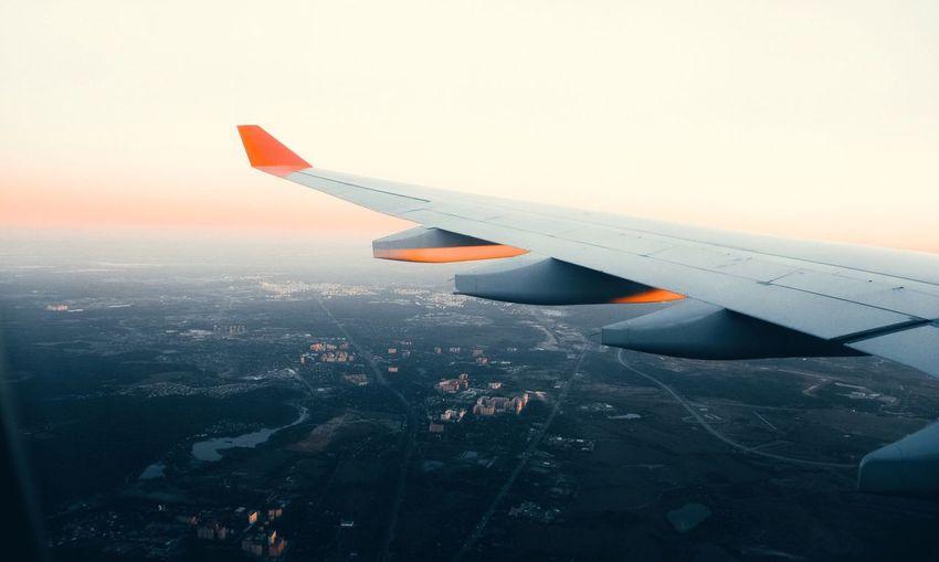 Airplane Flying Moscow Aeroflot Flighhigh Aviation Avialife First Eyeem Photo Flying High