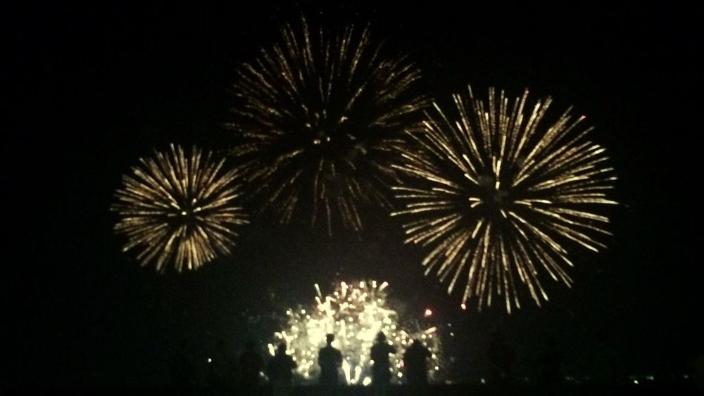 Celebration Firework Display Night Illuminated Glowing Low Angle View Exploding Firework - Man Made Object Event Arts Culture And Entertainment Sky Celebration Event Firework Pyromusical2017