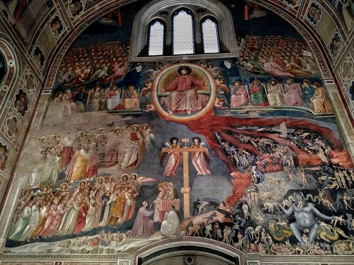 Padova, Aprile 2019 Hdr_Collection Cappella Degli Scrovegni Interior Art Architecture Historical Building Full Frame