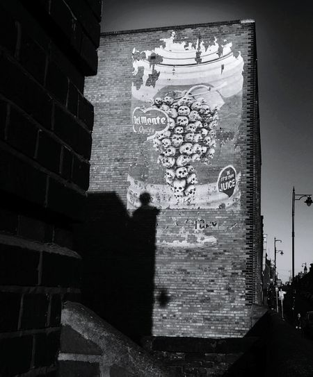 Graffiti Street Art Communication No People Outdoors Night Close-up Pixelated Delmonte Skullart Streetart