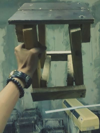 Humanmeetstechnology Handmade Chair Shittybutcomfortable Tahan Lama
