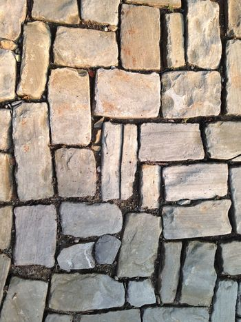 Backgrounds Close-up Day Full Frame Nature No People Outdoors Pattern Paved Stone Material Stone Tile Textured