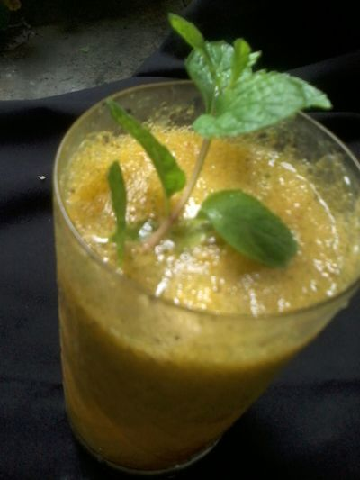 Mango lemonade Mangolemonade Fruitdrink