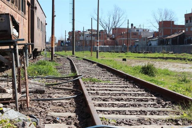 Architecture Arrival Building Exterior Built Structure City Clear Sky Day No People Outdoors Public Transportation Rail Transportation Railroad Track Sky The Way Forward Transportation