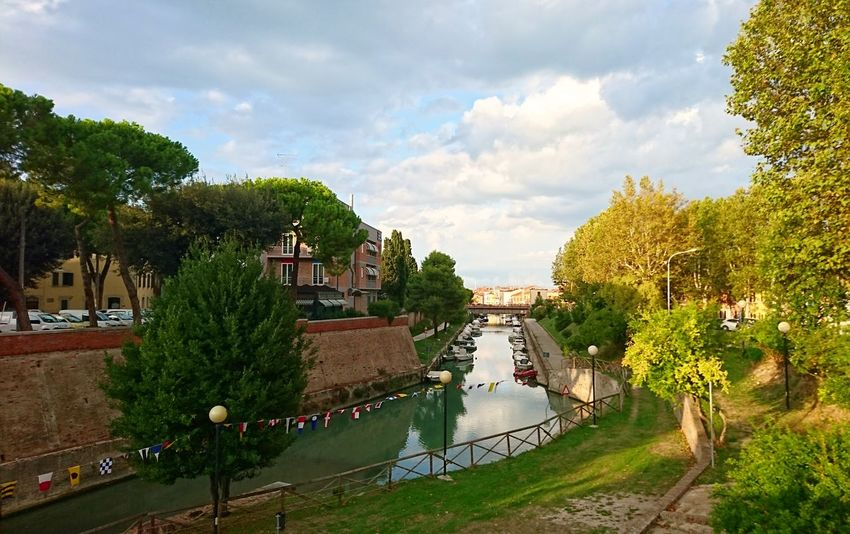 Cloud - Sky Outdoors Water Tree City Fano Italy Landscape Traveling Riverscape