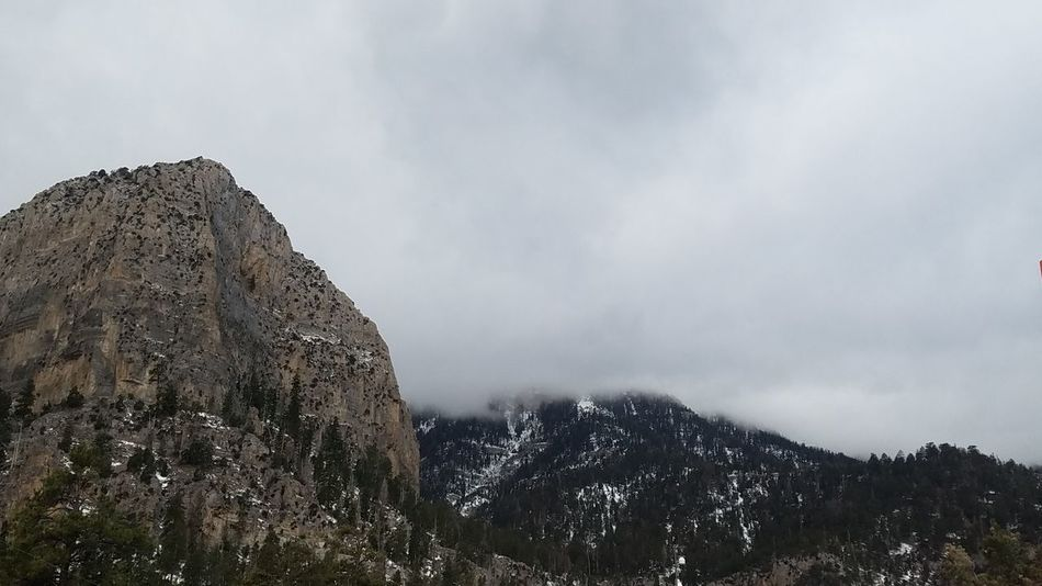 Mt. Charleston Mountains Nature Clouds Cloudy Skies