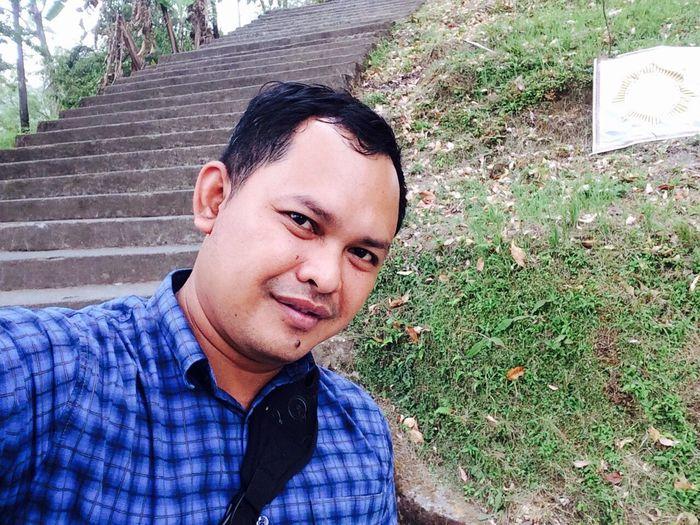 Selfie Iphone5s Pura Pasar Agung Bali