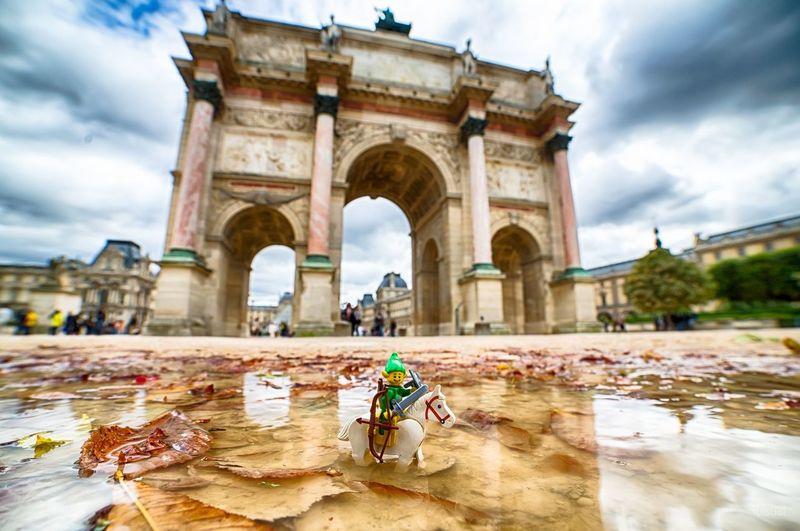 Paris Zelda LEGO Link Zelda