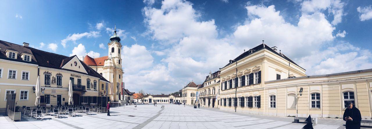 Wien Vienna Laxenburg Architecture Built Structure VSCO Cam Silhouette My Sky Architecture
