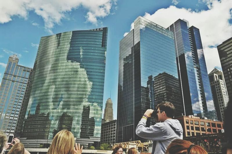 River Cruising Chicago ♥ Downtown