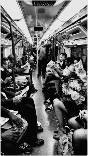 Eyem Best Shots The View From Here Eyemphotography People Watching Public Transportation London Underground 2015 07 14