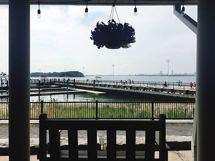 Spectacle Island Porch