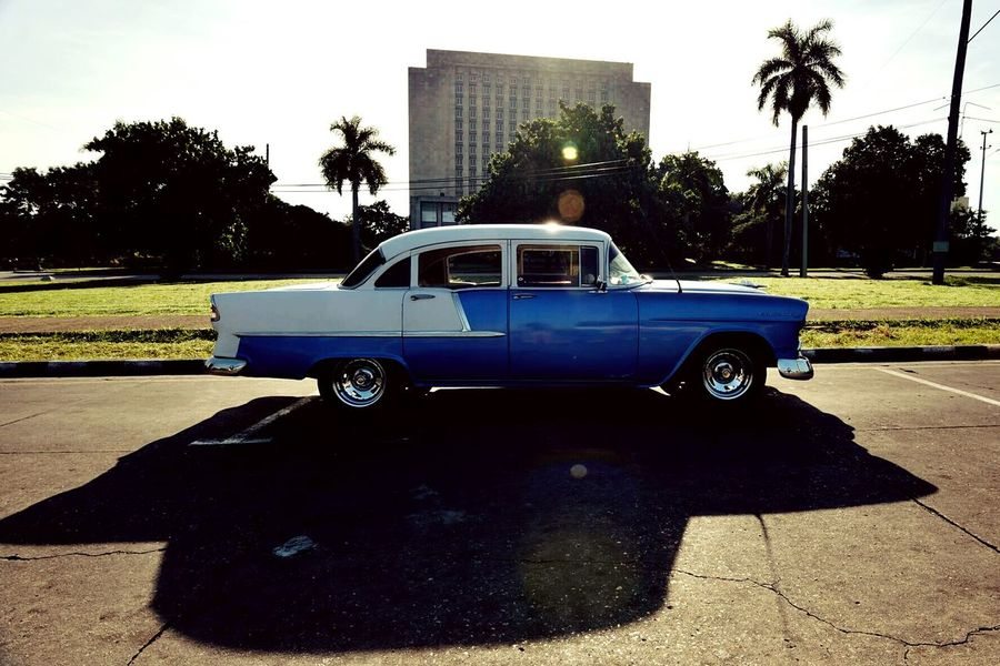 City Lights Cuba Car Outdoors Day No People City Mode Of Transport