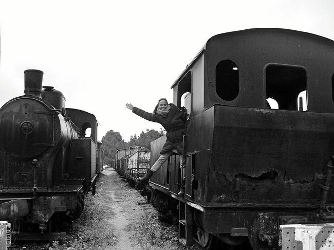 Showcase March March Winter Tempio Treno Old Train Trein Trein Station Sardinia Sardegna Italy  Black And White Black & White Portrait Portrait Of A Woman Monochrome Italy Thats Me  Rust The Portraitist - 2016 EyeEm Awards