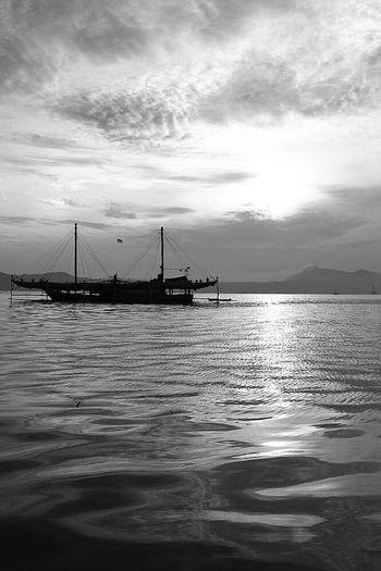 Boats Boats⛵️ Fishing Boat Watching Boats Sea And Sky Seascape EyeEm Gallery Blackandwhite EyeEm Best Shots EyeEmBestPics