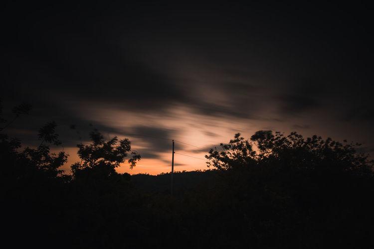 Dusk Sky Dark
