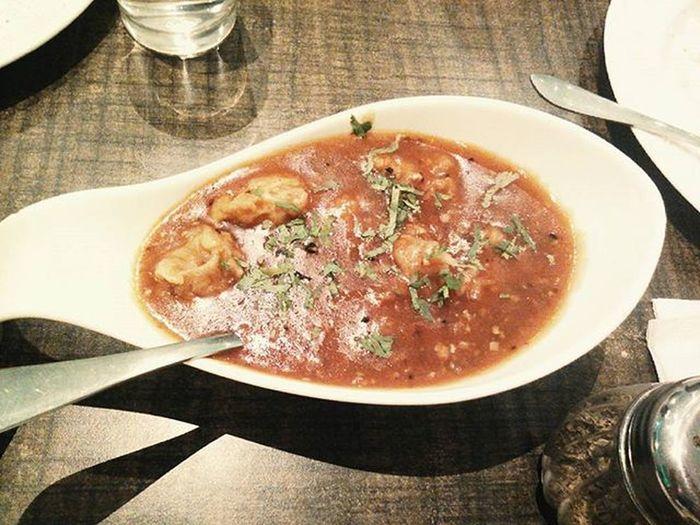 Spicysesamechicken Chickenballs Thickcurry Perfecttexture Foodgasm Foodie Foodporn Foodstagram Instafoodpost Igers