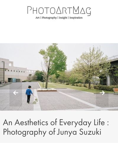 My project 'An Aesthetics of Everyday Life' has been featured on photoartmag.com. If you like, please share this link :) https://photoartmag.com/2016/06/18/photography-junya-suzuki/