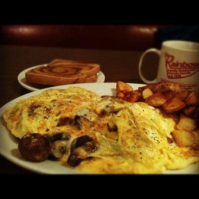 Breakfast @ rainbow restaurant. Breakfast Oshawa Iphoneonly 3GS badass