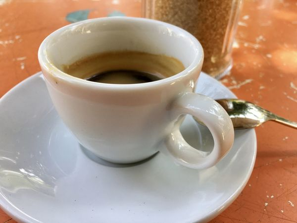 Espresso Close-up Coffee Coffee - Drink Coffee Cup Crockery Cup Drink Eating Utensil Focus On Foreground Food Food And Drink Freshness Indoors  Kitchen Utensil Mug No People Non-alcoholic Beverage Refreshment Saucer Spoon Still Life Table Tea Cup