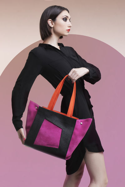 Jennifer Somoza Handbags Advertising Colors Fashion Colorful Fashion Photography Handbags Studio Shot Young Women