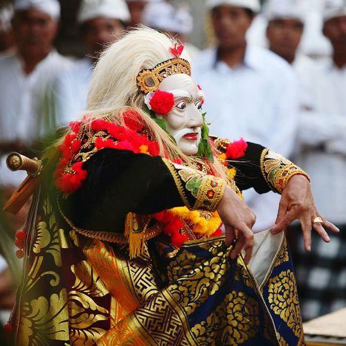 Tradition Balinese Topeng Sidakarya Bali, Indonesia