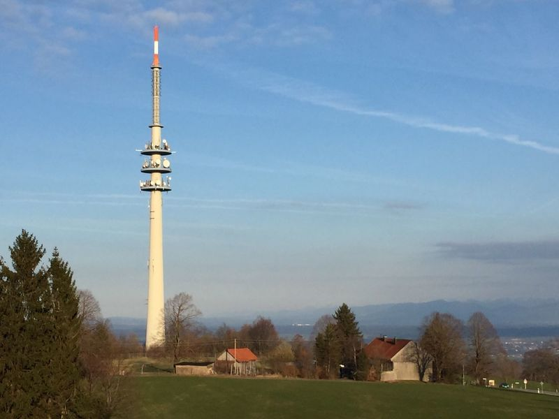 Architecture Built Structure Tower Tree Sky Building Exterior No People Day Outdoors Travel Destinations Communication Low Angle View Nature Technology Fernsehturm
